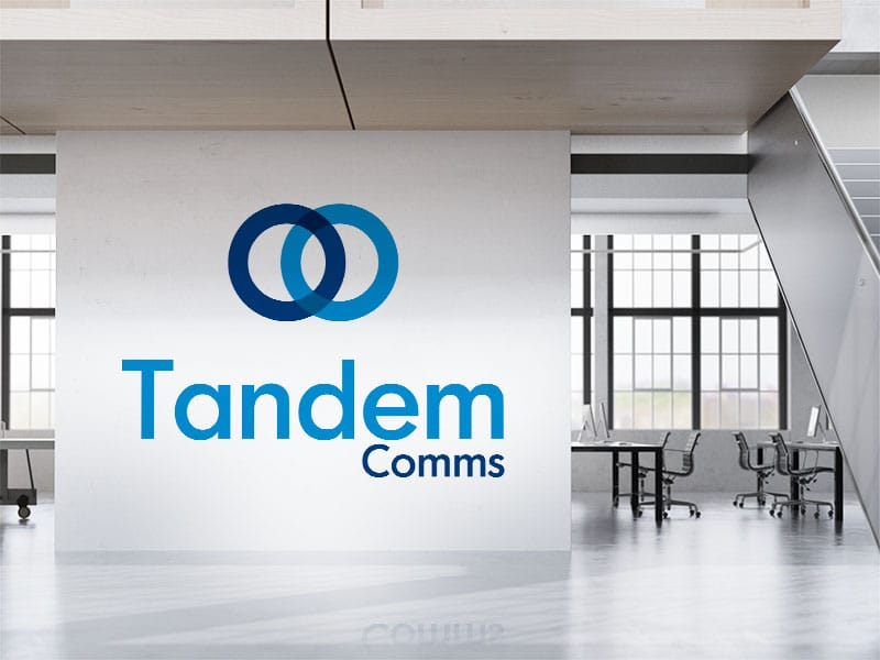 Squeak provided Tandem Comms with professional branding