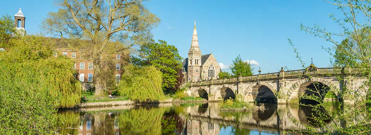 English bridge, Shrewsbury design agency